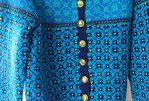 Kofter / Knitting