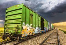 TRANSPORTATION / ART / ART USING MODES OF TRANSPORTATION, CARS, BOATS, TRAINS, PLANES