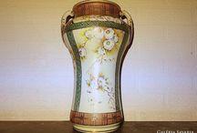 Nippon Imperial Váza Kézzel festett (1890 - 1910)