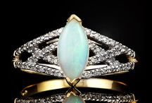 Majestic Opal Gemstones / by The Castle Jewelry Discounters of Diamonds and Fine Jewelry