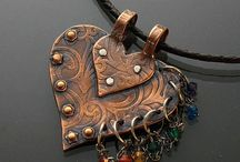 copper leather jewelry