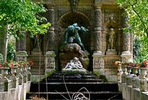 Medici Fountain & Luxembourg Gardens Paris *)