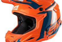 2018 Leatt 4.5 Motocross Kit & Helmet - Leatt head to toe! / We all crash. Sometimes hard, and sometimes even harder!.  The GPX 4.5 Injected Polymer Compound helmet offers world-class protection with 360 ̊ Turbine Technology. Turbines made of an energy absorbing material, are set inside the helmet. This technology has two main advantages, namely the reduction of rotational acceleration to the head and brain and absorption of energy upon impact at concussion level.  You cannot deny that Leatt is committed to rethinking and improving products.