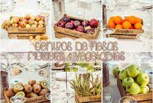 Decoración Finca El Campillo / Fantástica boda decorada con frutas y verduras