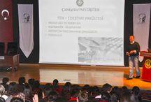 Sincan Karacan Dershanesi / Sincan Karacan Dershanesi öğrencileri, deneme sınavı meslek tanıtım etkinliği için üniversitemize konuk oldu.