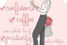 Coffee & life inspirational pic