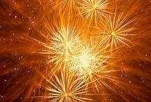 Fireworks / Fireworks at night