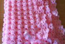Mantillas para bebe al crochet