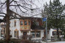 Обераммергау. Бавария Oberammergau. Bavaria / Очередное прекрасное открытие. Маленькая деревушка в Баварии. В Рождественское утро, в снегопад, она выглядела по особенному сказочно  Oberammergau- small village in Bavaria. Under the snow it's a real fairy tale.