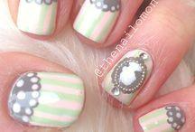 Vintage nailart