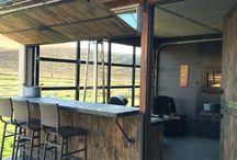 semi outdoor kitchen