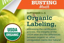 Organic Festival / September is #Organic Myth-busting Month! Each day we take down a myth and give you the facts.