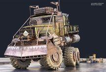 Apocalypse cars