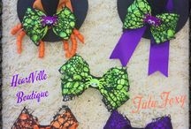 Tu-Tu's and Bows / Fun, original, and beautifully hand made Tu-Tu's and Bows galore!  All available at HeartVille boutique!  Great quality, Great Price!