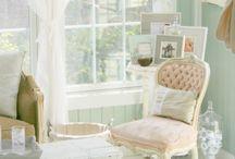 Romantic Feminine Curtains For Office