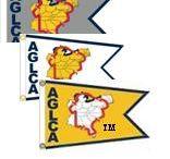 Great Loop Maps and Burgees / Seasonal map highlighting the Great Loop Route and Burgees (flags) that signify America's Great Loop Cruisers' Association membership.