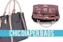 CHIC DIAPER BAGS / I love these diaper bags! / by Freshmom: Good Taste Guide
