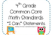 4th grade math / by Lirea Turner