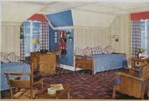 1940s Bedroom