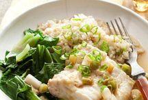 Healthy foods / Healthy meals.