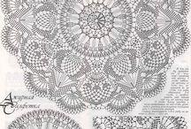hæklede mønstre - crochet patents -