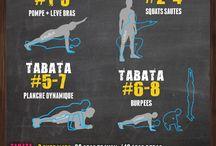 l'entraînement Tabata