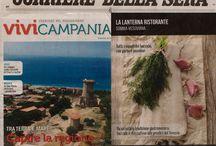 Corriere della sera / Sul Corriere della Sera con l'inserto mensile Vivi in Campania ci siamo anche noi! Per informazioni e prenotazioni 081 8991843  La Lanterna Ristorante  Via G. C. Aliperta, Somma Vesuviana (Na)