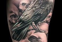 Kruk tatuaż