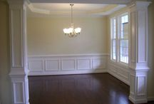 Mouldings for walls