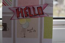 Handmade Cards / These are some handmade cards i made.