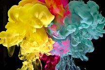 Colour Colour Colour / Colour palette inspiration with colours of every hue. Popping and bursting with vibrancy