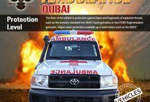 Armored or Bulletproof Ambulance Dubai