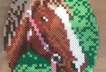 Horse pearler beads