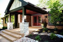 Entry & Patio Doors / An entry door can make all the difference to set the mood of a home's exterior.  From upscale elegance in the front, all the way to radical convenience added to the back with a patio slider, Heartlands works with each customer's unique style and needs.