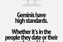 Gemini. / I relate