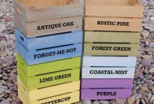 New Crate Colours / These are the new colour ranges we are launching in 2014