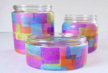 decoracion envases de vidrio
