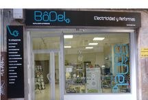 ELECTRICIDAD Y REFORMAS BODEL / Instalaciones electricas ,vivienda ,locales,naves.Boletines electricos etc...electricidad y reformas bodel.es