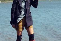 Ways to wear rain boots / let it rain... / by Grace Yang
