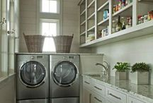 Wash Me Pretty / Laundry Rooms / by Francie DePaolo
