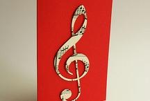 Music theme cards