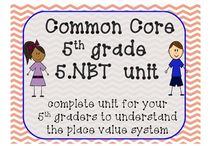 5th grade Math / by Candace Pena