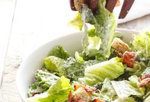 Salads and dressing