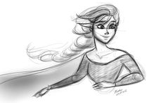 Frozen / Sketches of Disney's Frozen. / by Fred Sposito