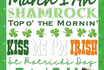 St. Patricks Day / St. Patricks Day goodies! Everything from food to crafts .. You can find it here!