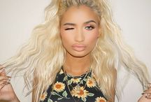 "PiaMia. / Everybody talks about ""goals"". Well Pia Mia is certainly mine. She is absolutely beautiful, her style is so unique, fashionable and her music is the cherry on top. Pia Mia is just amazing."
