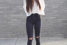 Jeans altos