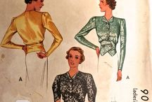 Vintage Sewing Patterns / by The Cats Pajamas