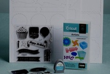 CRICUT®  Artiste  / Projects created with the Artiste Cartridge from #CTMH Ideas of projects TO create