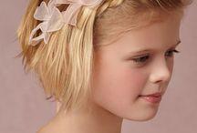 Flowergirl Hair Idea's